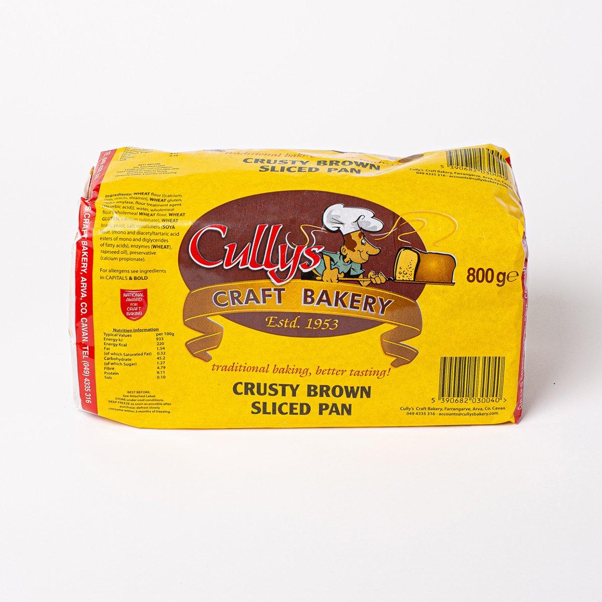 Crusty Brown Sliced Pan
